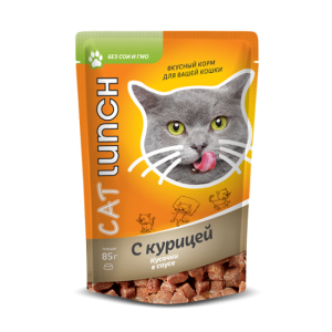 Cat Lunch 85 г Курица